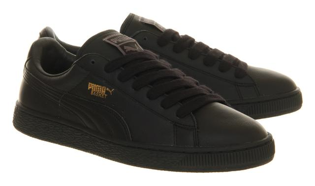 Puma Basket Classic Black