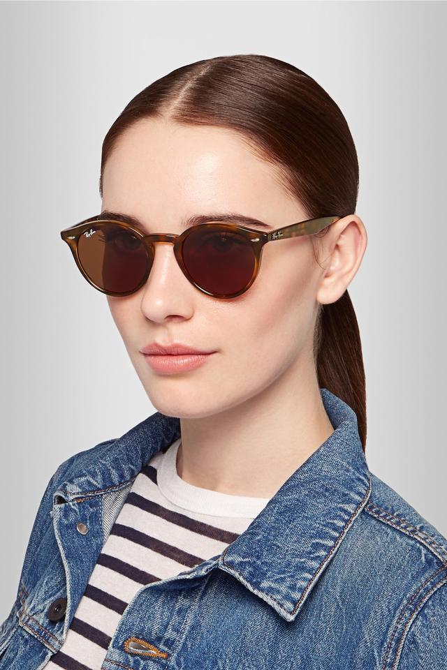 Ray Ban ORB3447 Round Metal Sunglasses 47mm  amazoncom